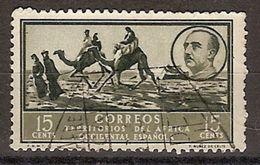 Africa Occidental U 06 (o) Paisaje Y Franco. 1950 - Marruecos Español