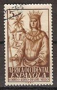 Africa Occidental U 02 (o) Isabel. 1949 - Spanish Morocco
