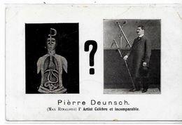 CPA Magie Magician Prstidigitateur Cirque Circus Cirk Non Circulé Pierre Deunsch - Circo