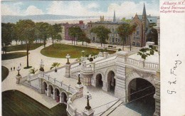 New York Albany Grand Staircase & Capitol Grounds