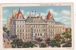 New York Albany State Capitol Building 1934 Curteich