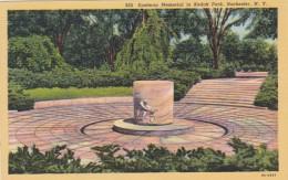 New York Rochester Eastman Memorial In Kodak Parky Curteich
