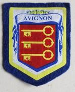 écusson Ancien Blason AVIGNON - Ecussons Tissu