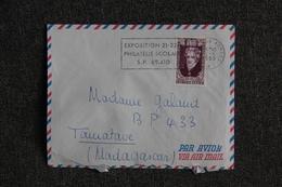Lettre Envoyée FRANCE ( Poste Aux Armées ) à MADAGASCAR - Oblitérations Mécaniques (flammes)