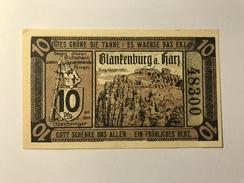 Allemagne Notgeld Blankenburg 10 Pfennig - [ 3] 1918-1933 : Weimar Republic