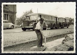 Alter Bus, Strassenbau - Photos