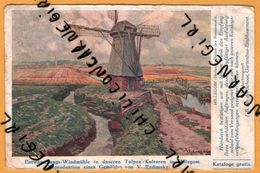 Moulin - Entwässerungs Windmühle In Unseren Tulpen Kulturen In Hillegom - V. RADIMSKY - 1927 - Holanda