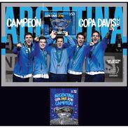 DAVIS CUP 2016-ARGENTINA CHAMPION-STAMPS ARGENTINA 2017- - Tennis