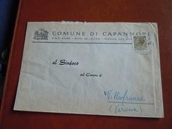 TEMATICA BUSTE COMUNALI - COMUNE DI CAPANNORI  1969 - Buste