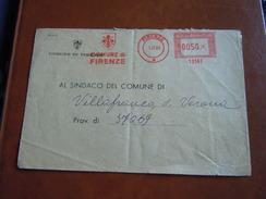 TEMATICA BUSTE COMUNALI - COMUNE DI FIRENZE  1969 - Buste