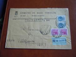 TEMATICA BUSTE COMUNALI - COMUNE DI M ASI TORELLO 1969 - Buste