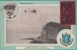 14 - Angleterre - Douvres - Circuit Européen 1911 - Védrines Arrive à Douvres, Passant La Manche - Dover