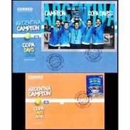 COPA DAVIS 2016-ARGENTINA CAMPEON-ARGENTINA FDC ( 2 ) -2017- - Tennis