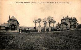 59 - MONS-en-PEVELE - Le Château Et La Vallée De La Fontaine Saint-Jean - France