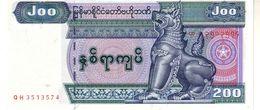 Maynmar P.78 200 Kyats 2004 Unc - Myanmar