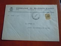 TEMATICA BUSTE COMUNALI - COMUNE DI BUSSOLENGO  2   1969 - Buste