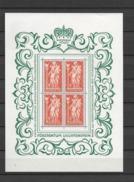 1965 MNH Liechtenstein  Postfris** - Blocs & Feuillets