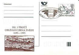 CDV C Czech Republic Swedish Besiege Of Brno 1995 - Militaria