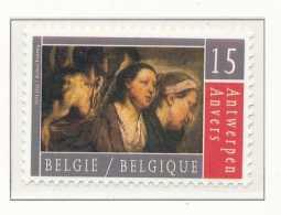 N° 2497, Anvers 93 Antwerpen, Capitale Culturelle De L'Europe, Tableaux De Jordaens, SNC - België