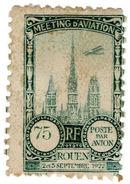 (I.B) France Cinderella : Poste Par Avion 75c (Rouen 1922) - Europe (Other)