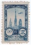 (I.B) France Cinderella : Poste Par Avion 50c (Rouen 1922) - Europe (Other)