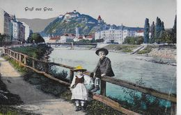 AK 0794  Gruss Aus Graz - Verlag Frank Um 1918 - Graz