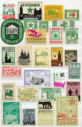 (I.B) Cinderella Collection : Esperanto Congress Labels - Europe (Other)