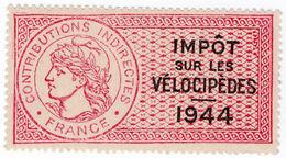 (I.B) France Revenue : Impôt Sur Les Vélocipèdes (Bicycle Tax) - Europe (Other)