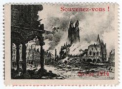 (I.B) France Cinderella : Delandre Great War Patriotic Stamp (Remember Arras) - Europe (Other)