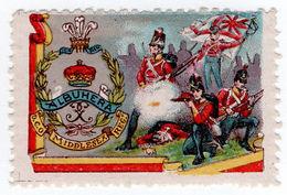 (I.B) Cinderella : Delandre Great War Regiments - Middlesex Regiment - 1902-1951 (Kings)