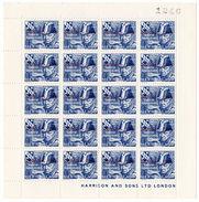(I.B-JA) Cinderella Collection : Herm Island - Churchill Red Overprint 4d - Unclassified