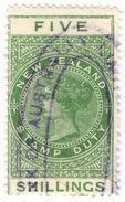 (I.B) New Zealand Revenue : Stamp Duty 5/- - New Zealand