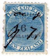 (I.B) New Zealand Revenue : Law Courts 6/- - Unclassified