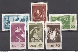 Allemagne DDR 1967  Mi.nr.: 1286-1291 Vermisste Gemälde  Neuf Sans Charniere /MNH / Postfris - DDR