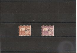 NOUVELLE CALÉDONIE TAXE  Année 1926/27 N°Y/T :24/25* - Timbres-taxe