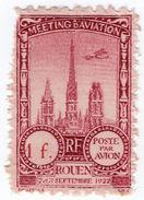 (I.B) France Cinderella : Poste Par Avion 1Fr (Rouen 1922) - Europe (Other)