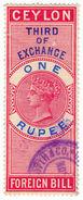 (I.B) Ceylon Revenue : Foreign Bill 1R (Third) - Ceylon (...-1947)