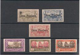 NOUVELLE CALÉDONIE Colis Postaux  Années 1926/30 N°Y/T : 1/6* - New Caledonia