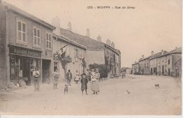 57 - WOIPPY - RUE DE BRIEY - BOULANGERIE FONTAINE - BELLE ANIMATION - France