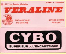 2 Buvards Cybo Et Véraline, Encaustique. - Buvards, Protège-cahiers Illustrés