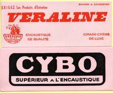 2 Buvards Cybo Et Véraline, Encaustique. - Vloeipapier