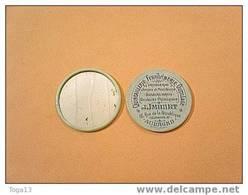 Ancien Miroir De Poche  Glacoide Publicitaire (12674) - Unclassified