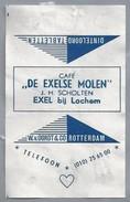 Suikerwikkel.- Embalage De Sucre. EXEL Bij LOCHEM. Café - DE EXELSE MOLEN - J.H. Scholten. - Suiker