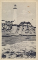 Canada Picture Postcard Cap Des Rosiers Phare Lighthouse - Fari
