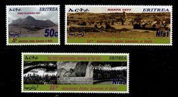 (021) Eritrea  Nakfa Liberation / Befreiung / 2002  ** / Mnh  Michel  270-272 - Eritrea