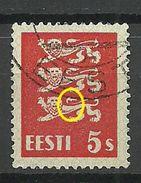 ESTLAND Estonia 1928 Michel 77 + ERROR O - Estland
