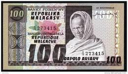 MADAGASCAR  : Banconota 100 Ariary - P71 - UNC - Madagascar