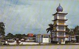 Florida Sarasota Golden Buddha Restaurant 1971