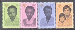 ST. VINCENT  541-4   **   INTL.  YEAR  OF THE  CHILD  I.Y.C. - St.Vincent (...-1979)
