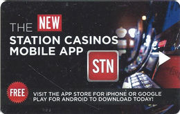 Station Casinos - Las Vegas, NV - Hotel Room Key Card - Hotel Keycards